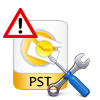 repair outlook pst database withh all items