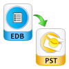 allows edb file conversion in pst file format