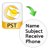 PST File Duplicate Remover show status report